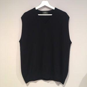 Brooks Brothers 100% Cashmere Vest.  Size XL